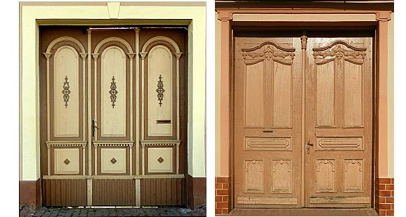 Entrance doors in Metzenseifen